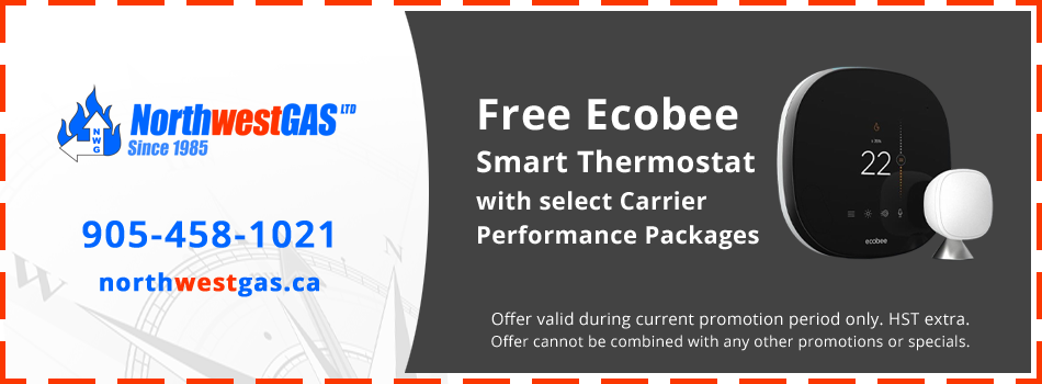 Get a Free Ecobee Smart Thermostat with Select Carrier Performance Packages